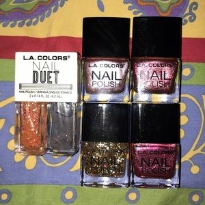 LA Colors Nail Polish Bundle